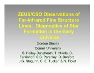 ZEUS/CSO Observations of Far-Infrared Fine Structure Lines ...