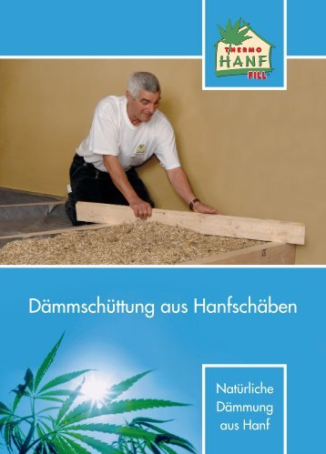 Dämmschüttung aus Hanfschäben - alsfasser-shop.de