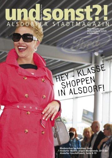 HEY - KLASSE SHOPPEN IN ALSDORF! - Alsdorfer-stadtmagazin.de