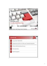 Fachvortrag2 - Photovoltaik - Henrich Hardieck - Geoplex GmbH