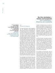 Die Vitra Architektur – Vielfalt und Komplexität Vitra ... - Ebn24