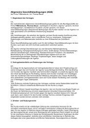 Allgemeine Geschäftsbedingungen (AGB) - Thbmedia.de