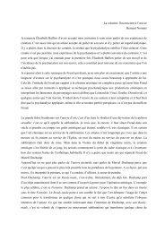 Bernard Nominé - La création - Ecole de Psychanalyse des Forums ...