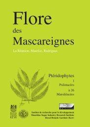Flore des Mascareignes : La Réunion, Maurice, Rodrigues ... - IRD
