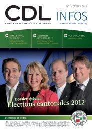 Bulletin no. 1/12 – Février 2012 - Cercle Démocratique Lausanne