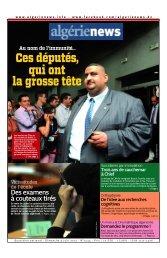 Fr-09-06-2013 - Algérie news quotidien national d'information