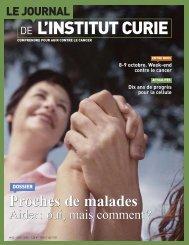 Le Journal de l'Institut Curie - n°63 - Août 2005