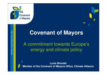 Covenant of Mayors standard PPT June 2011_Ludw