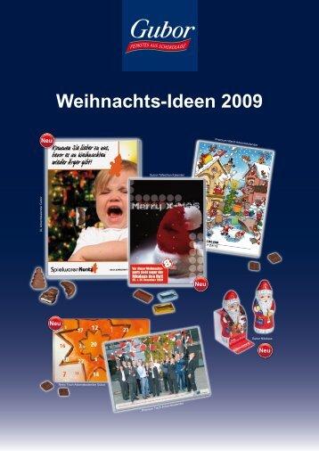 Weihnachts-Ideen 2009 - Urbanek GmbH