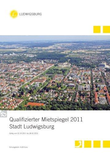 Qualifizierter Mietspiegel 2011 Stadt Ludwigsburg