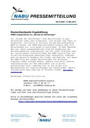 2013-0038 - Stunde der Gartenvögel - Alt.nabu-sachsen.de