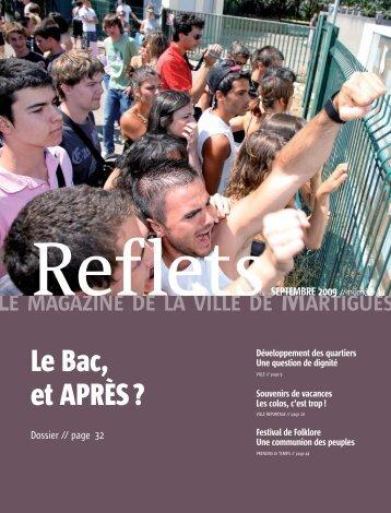 """""""Reflets, le magazine de la ville de Martigues"""", n° 30"""