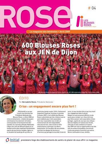 ROSE N°4, Le magazine des bénévoles - Les Blouses Roses