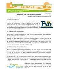 Programme PAIR : une présence rassurante! - MRC de Rivière-du ...