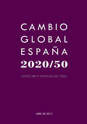Informe Cambio Global. Consumo y estilos de vida.pdf - Conama 2012