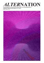 Rembrandt Klopper - Alternation Journal - University of KwaZulu-Natal