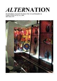 Alternation Journal - University of KwaZulu-Natal