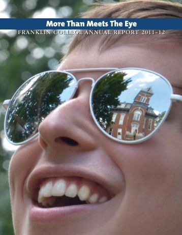 2012 Franklin annual report - Franklin Alumni Network - Franklin ...