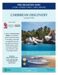 caribbean discovery - Alumni Association - University of Oklahoma