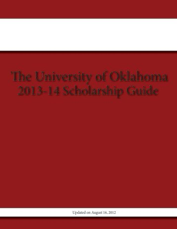 The University of Oklahoma - Alumni - University of Oklahoma