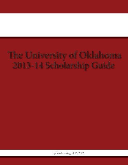 The University of Oklahoma - Alumni - University of Oklahoma