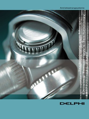 Antriebsstrangsysteme - Delphi