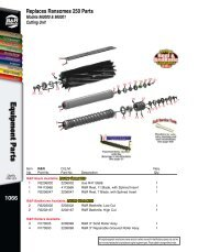 514 Replaces Ford Flail Mower Parts Replaces Ford 907 & 917