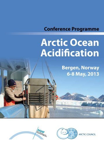 Conference Programme - Arctic Monitoring and Assessment ...