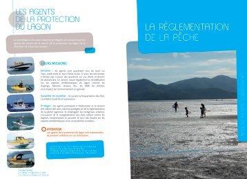 la rèGlementation de la PêCHe - Province sud
