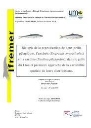 Biologie de la reproduction de deux petits pélagiques, l'anchois ...