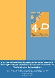 Télécharger les actes de la conférence - association 4D