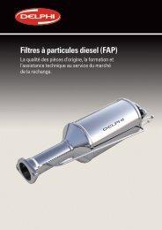 Filtres à particules diesel (FAP) - Delphi