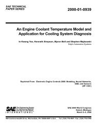 2000-01-0939 An Engine Coolant Temperature Model and ... - Delphi