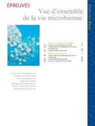Vue d'ensemble de la vie microbienne - Pearson