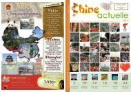 Chine Actuelle, le magazine de l'Association Belgique ... - Belchin.be