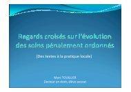 Soins pénalement ordonnés 4 - CHU Montpellier