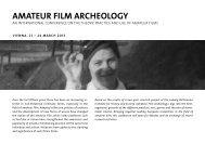 amateur film archeology - Ludwig Boltzmann Institut für Geschichte