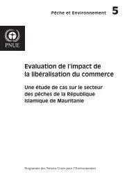 Evaluation de l'impact de la libéralisation du commerce - UNEP