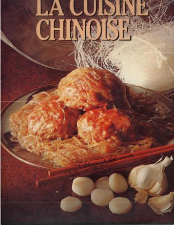 La Cuisine Chinoise_..