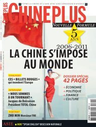 Octobre / Novembre 2011 - Chine-Plus