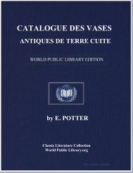 catalogue des vases antiques de terre cuite - World eBook Library