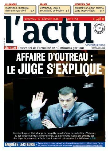 AffAire D'outreAu : - Play Bac