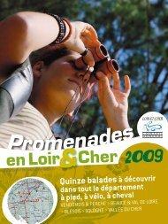 Promenades - Conseil général du Loir et Cher