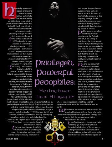 05-12 Pedophiles:Master Galley - Plain Truth Ministries