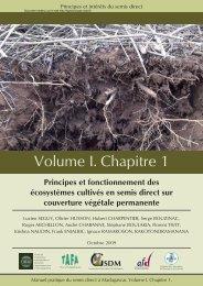 Manuel pratique du semis direct à Madagascar - Volume I Chapitre 1