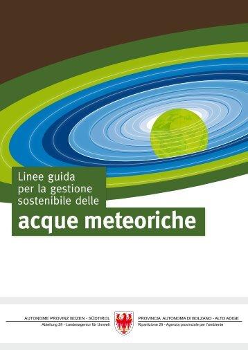 [PDF] acque meteoriche - Ambiente