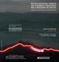 MICROZONAZIONE SISMICA - Ambiente - Regione Emilia-Romagna