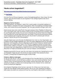 Fundraising innovativ – Newsletter Heute schon ... - Spendwerk