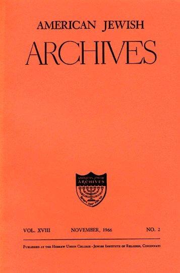 Untitled - American Jewish Archives