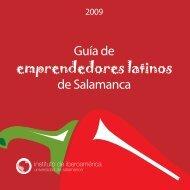 emprendedores latinos - Universidad de Salamanca